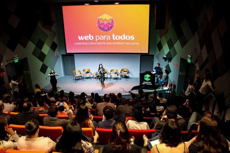 Movimento Web para Todos é lançado no Google Campus São Paulo